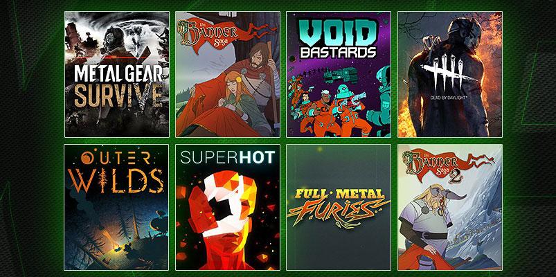 Metal Gear Survive y siete juegos más llegan a Xbox Game Pass