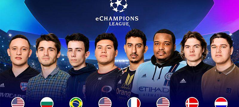 eChampions League 2019 finalistas