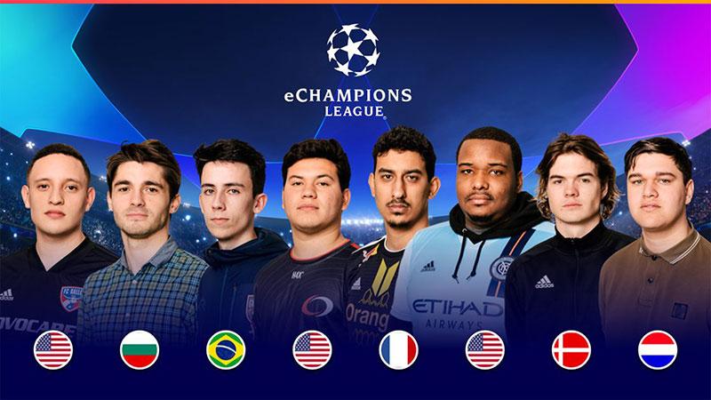 La eChampions League se jugará en Madrid el 31 de mayo