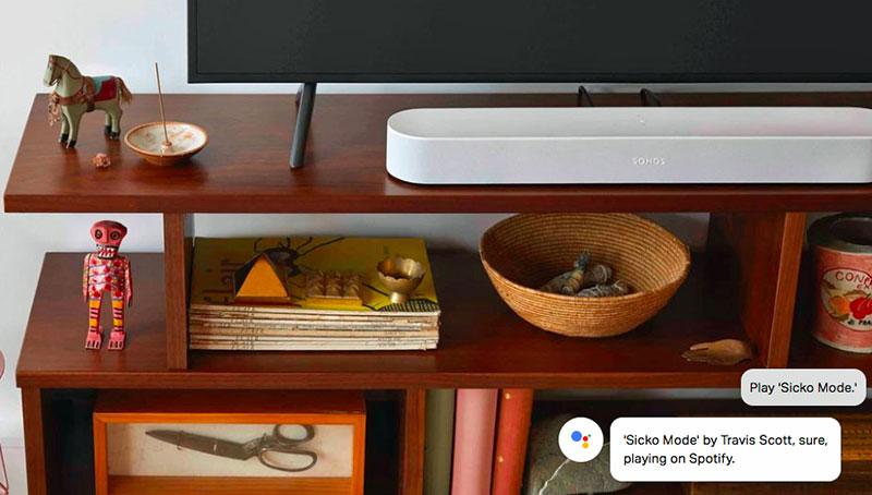 sonos Beam Google Assistant