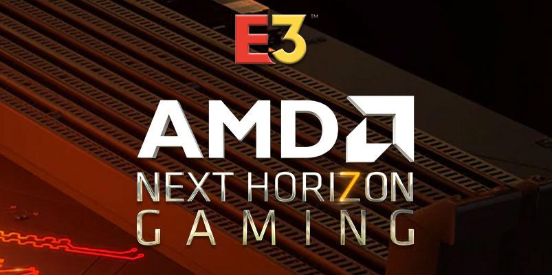 En Next Horizon Gaming, AMD mostrará el futuro de los videojuegos #E32019
