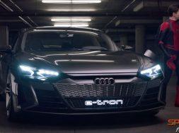 Audi e-tron proyecto Peter Parker