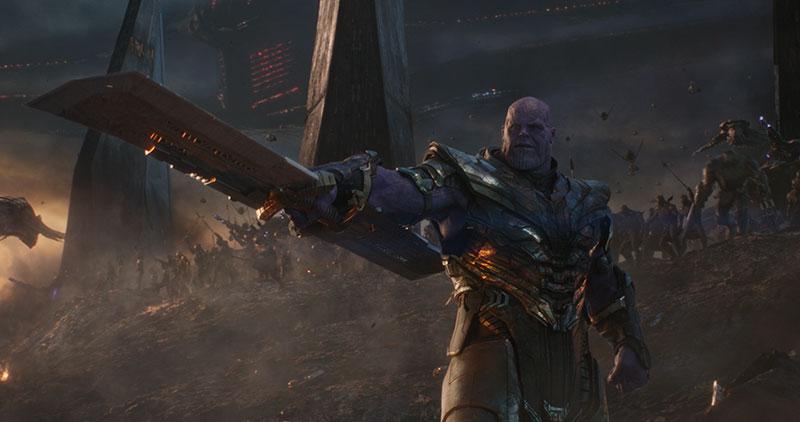 Avengers Endgame 24 millones mexico Thanos