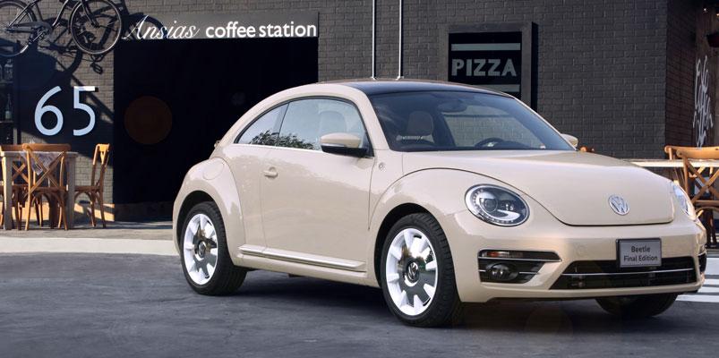 Beetle Final Edition sólo se venderá por Internet y hay 65 unidades