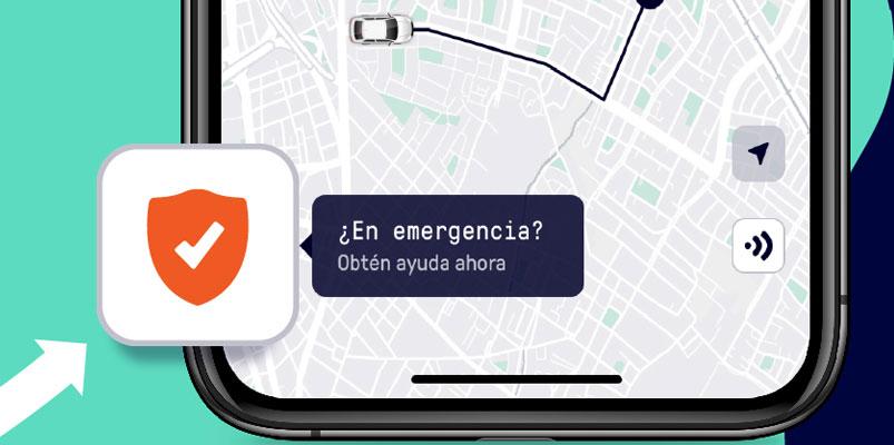 Beat ya emplea un botón de emergencia y así lo podrás usar