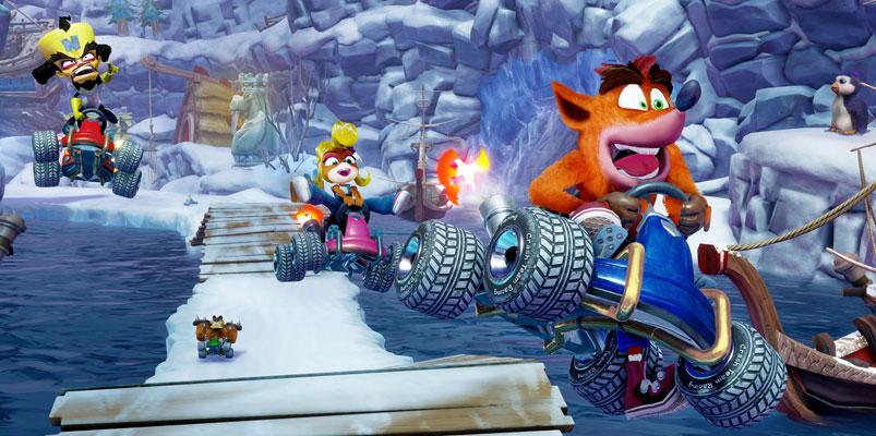 Crash Team Racing Nitro-Fueled ya está listo para correr