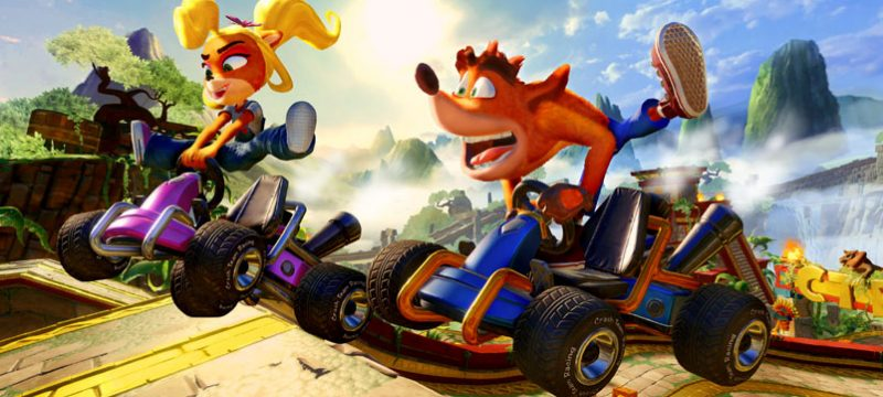 Crash Team Racing Nitro Fueled lanzamiento