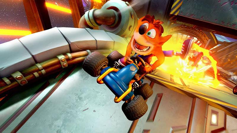 Crash Team Racing Nitro Fueled lanzamiento Crash