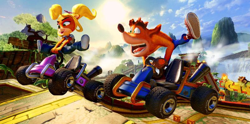 Prepárate para la acción de Crash Team Racing Nitro-Fueled