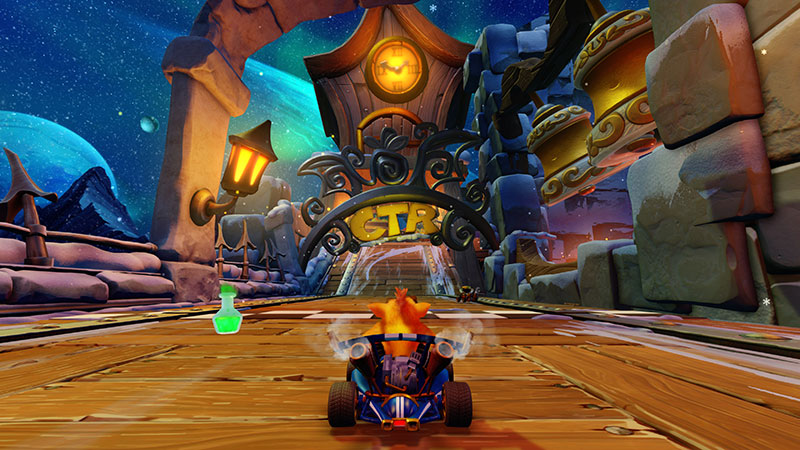 Crash Team Racing Nitro Fueled pistas