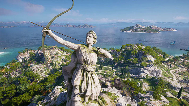 Assassin's Creed Odyssey Discovery Tour Ancient Greece