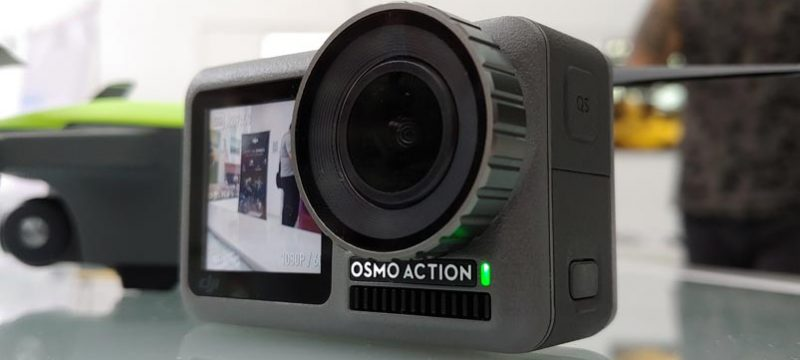 DJI Osmo Action primer contacto