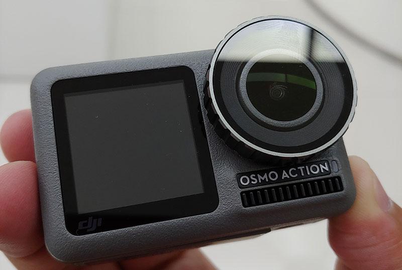 DJI Osmo Action primer contacto con filtro