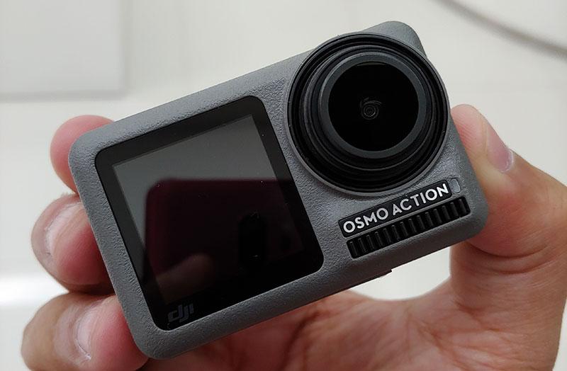 DJI Osmo Action primer contacto sin filtro