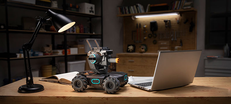 DJI RoboMaster S1 programacion
