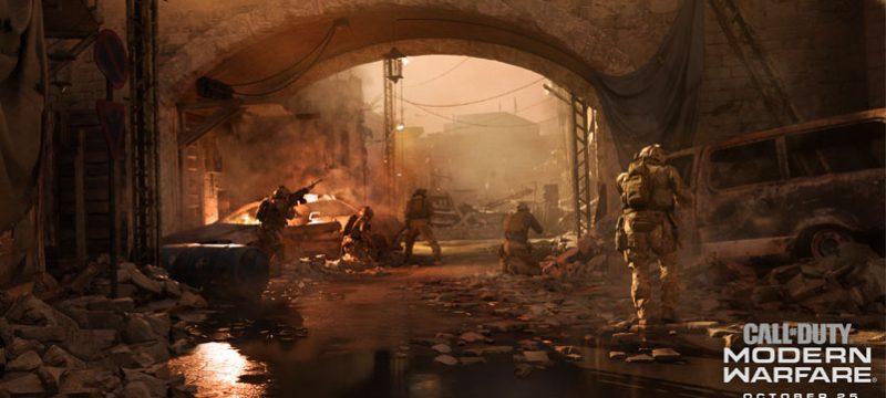DirectX Raytracing Modern Warfare