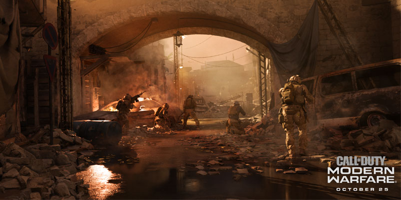 DirectX Raytracing Modern Warfare