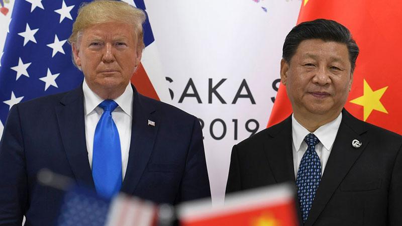 Donald Trump Wang Xiaolong G20 Huawei