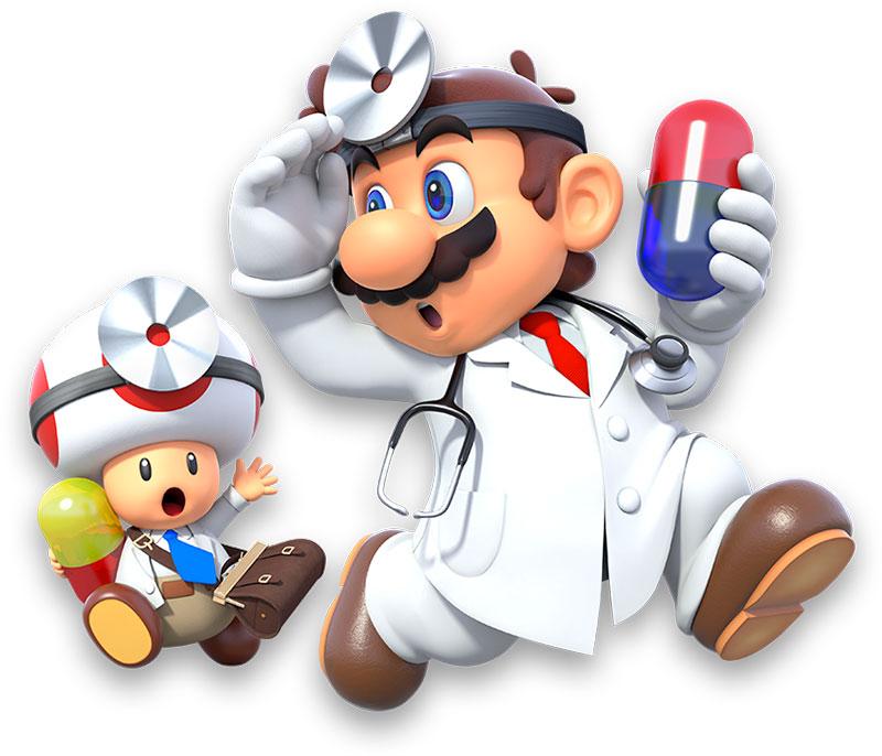 Dr Mario Dr Toad