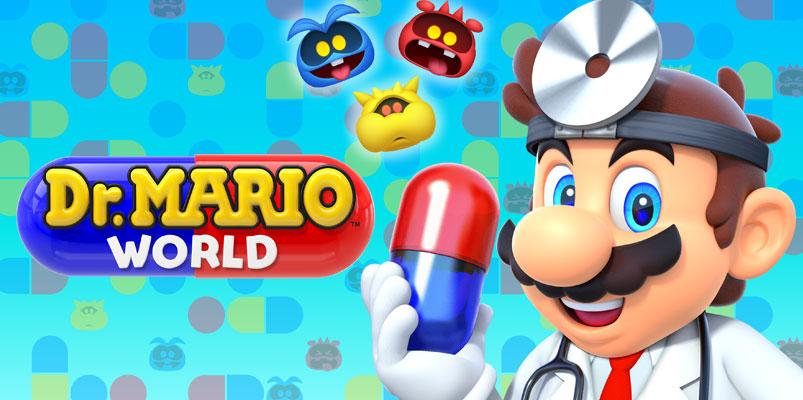 Dr. Mario World llegará a iOS y Android el próximo 10 de julio