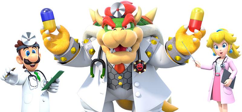 Dr Peach Dr Bowser Dr Luigi