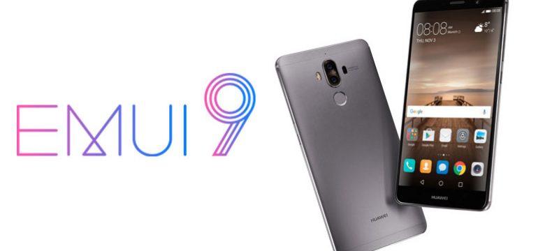 EMUI 9 smartphones compatibles
