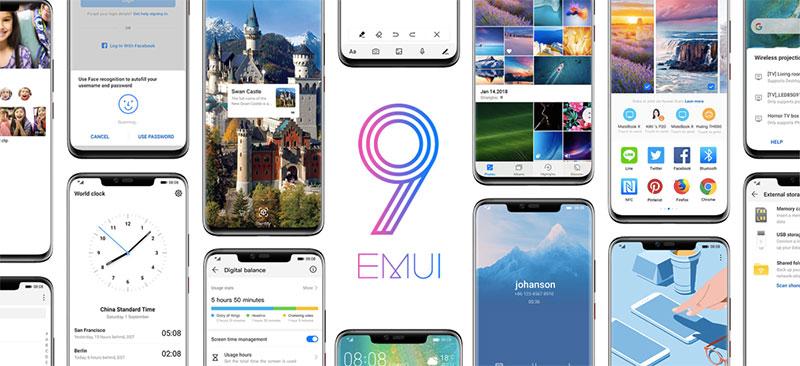 EMUI 9 smartphones compatibles Mexico