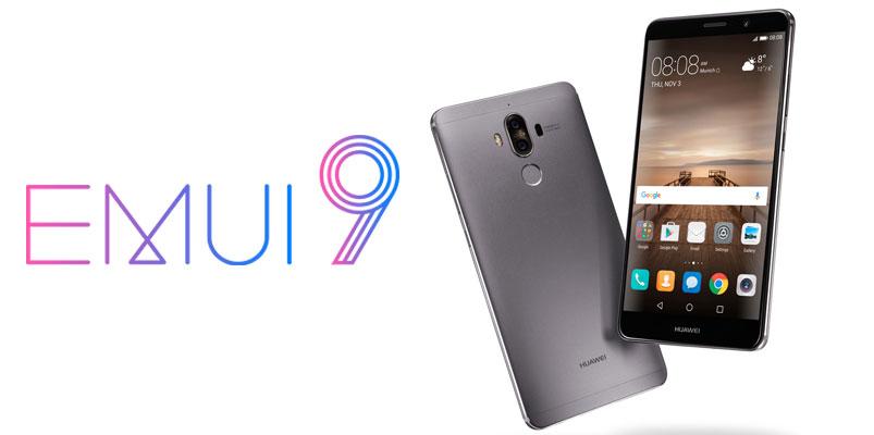 Todos los smartphones Huawei que reciben EMUI 9 en México