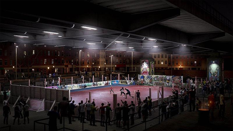 FIFA 20 VOLTA Football jaula