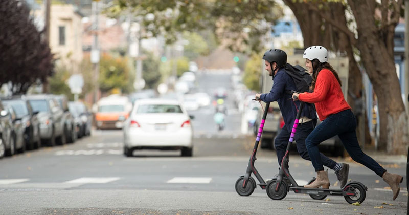Fintonic scooters