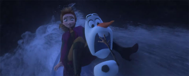 Frozen 2 trailer Anna Olaf
