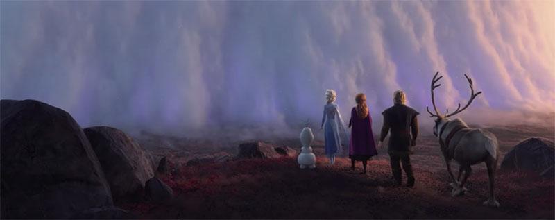 Frozen 2 trailer Elsa Anna Olaf Sven Kristoff