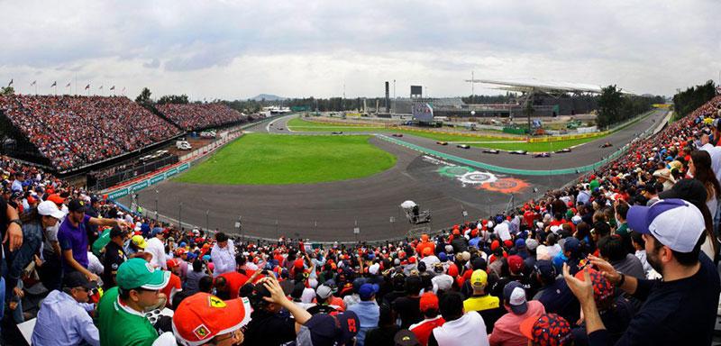 La nueva Grada 3A para el Formula 1 Gran Premio de México 2019