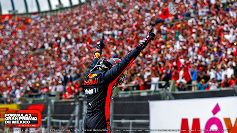 GP Mexico Max Verstappen