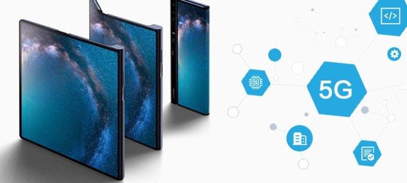 Huawei Mate X 5G prueba