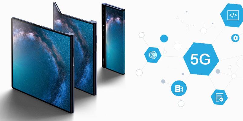 Huawei demuestra las velocidades de una red 5G en un Mate X