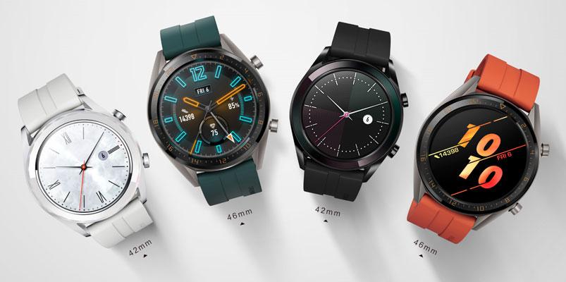 Huawei Watch GT supera los dos millos de unidades vendidas
