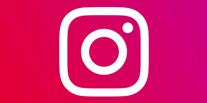 Instagram logotipo rosa