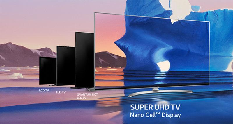 LG NanoCell TV 2019 competencia