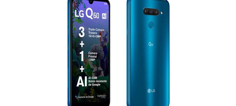 LG Q60 Telcel precio