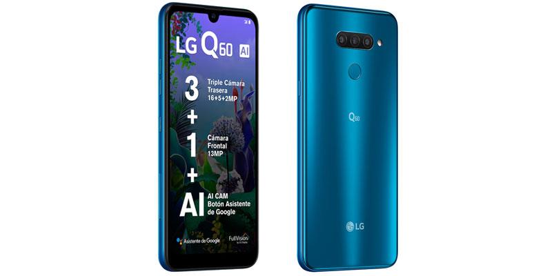 Precio y características de LG Q60 (LM-X525HA) con Telcel