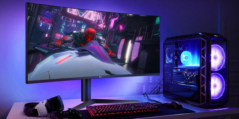 El nuevo monitor LG UltraGear con pantalla IPS de 1 ms de respuesta