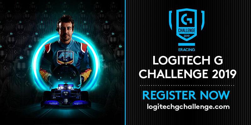 Logitech G Challenge 2019 mclaren shadow