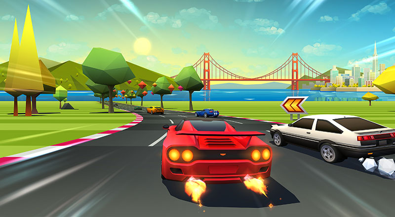 PlayStation Plus Horizon Chase Turbo