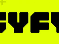 SyFy logo amarillo