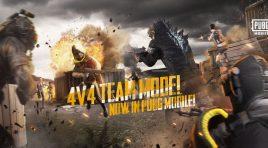 Éntrale al nuevo modo Team Deathmatch 4v4 de PUBG MOBILE