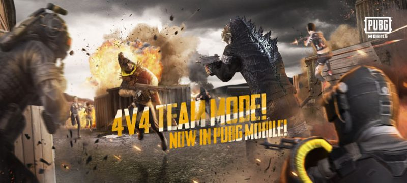 Team Deathmatch 4v4 PUBG MOBILE