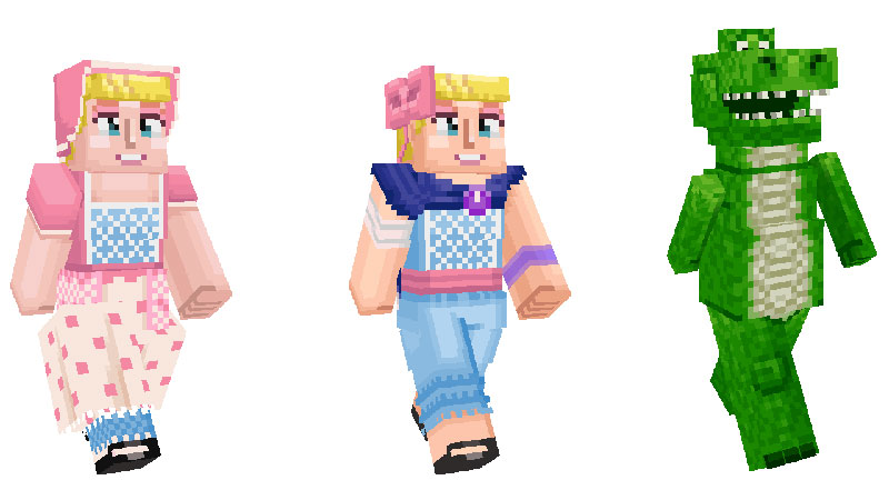 Toy Story 4 Minecraft personajes 2