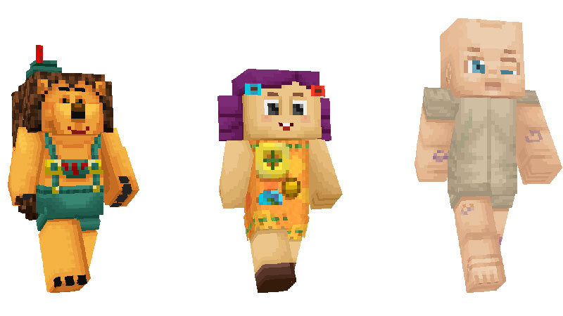 Toy Story 4 Minecraft personajes 5