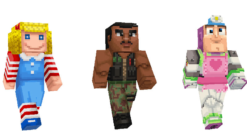 Toy Story 4 Minecraft personajes 7